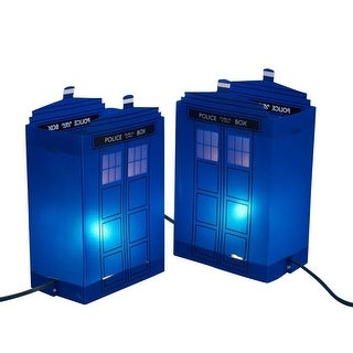 Doctor Who Tardis Outdoor Luminary Tardis 5 Light Set