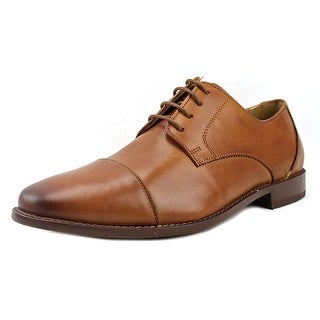 Florsheim Montinaro Cp Ox Men 3E Round Toe Leather Tan Oxford
