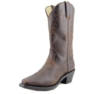 Durango RD3223 Women Pointed Toe Leather Brown Western Boot