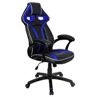costway racing bucket seat office chair high back gaming chair desk task ergonomic