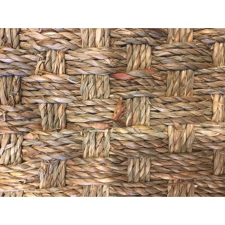 Safavieh Casual Natural Fiber Natural and Beige Border Seagrass Rug - 8' X 10'