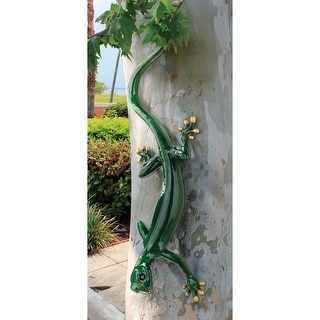 Design Toscano Giant Garden Gecko Lizard Statue