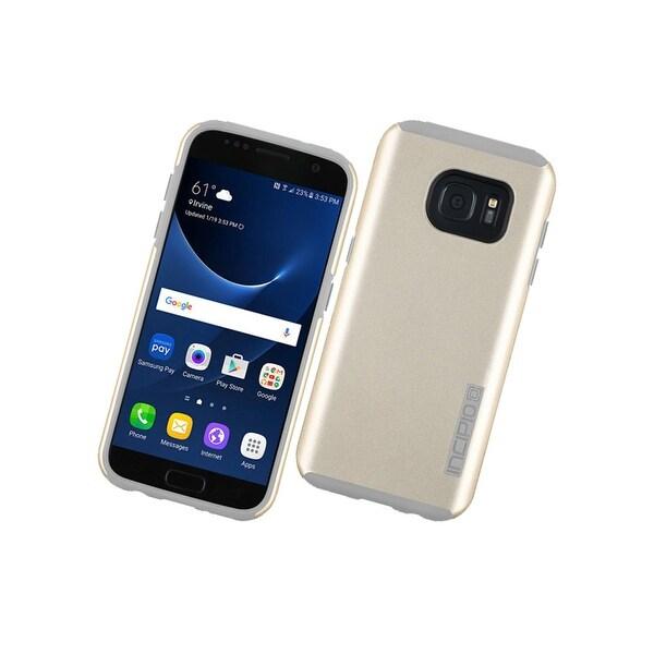 Incipio DualPro Case for Samsung Galaxy S7 (Champagne/Gray)