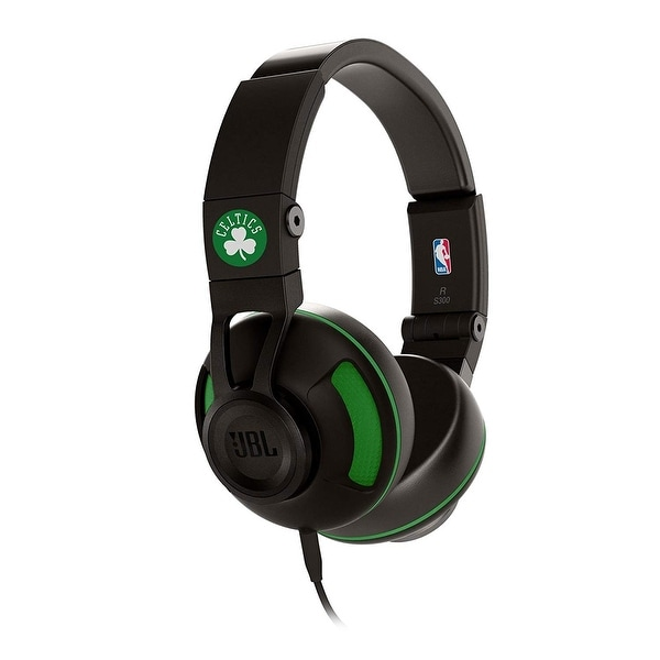 JBL Synchros S300 Premium Wired On-Ear Headphones with Remote Control - 6.8 x 3.5 x 8.5. Opens flyout.