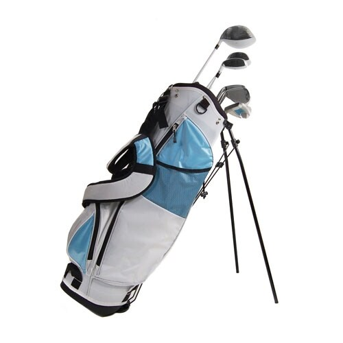 New Ladies Get Golf Ready Complete Starter Set RH w/ Stand Bag - White
