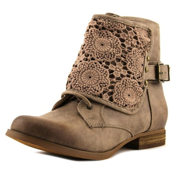 Not Rated Crafty Women Round Toe Synthetic Tan Ankle Boot
