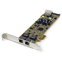 Startech Dual Port Pci Express Gigabit Ethernet Network Card Adapter 2 Port Pcie Nic 10/100/100