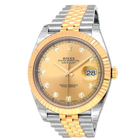 41mm Rolex Two-tone Datejust 41