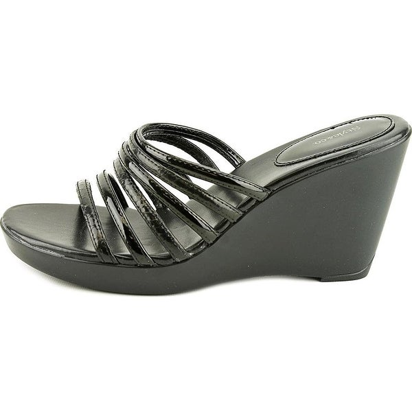 Style & Co Thwedge Open Toe Synthetic Wedge Sandal