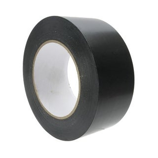 American Educational Products 2 in. x 180 ft. Black Vinyl Floor Tape