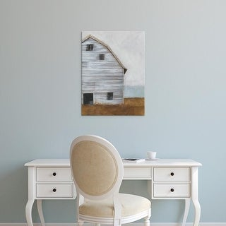 Easy Art Prints Ethan Harper's 'Abandoned Barn I' Premium Canvas Art