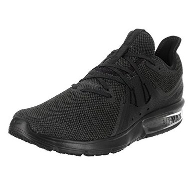 timeless design af0e0 1ab71 Shop Nike Air Max Sequent 3 Size 10.5 Mens Running Black Anthracite Shoes -  Free Shipping Today - Overstock - 20976204