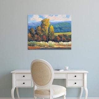 Easy Art Prints Tim O'Toole's 'Leaves of Fire II' Premium Canvas Art