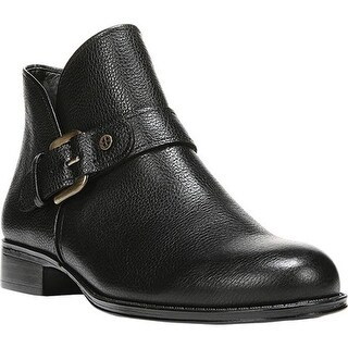 Naturalizer Women's Jarrett Ankle Boot Black Classic Vintage Leather