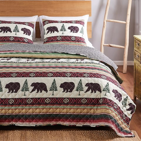 Barefoot Bungalow Yosemite Quilt and Pillow Sham Set
