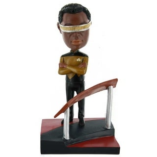 Star Trek: TNG Geordi La Forge Build-a-Bridge Bobblehead Exclusive - multi