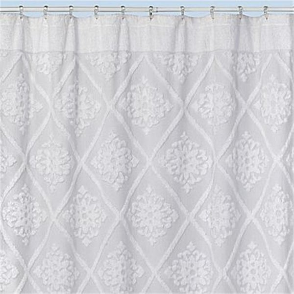 Shop Creative Bath S1215WH Belle Shower Curtain