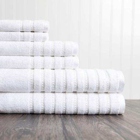 Burke 6-piece Cotton Towel Set