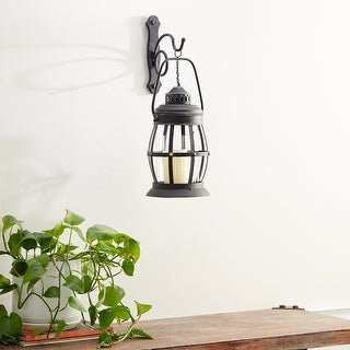 Link to Brown Iron Rustic Wall Sconce 19 x 7 x 10 - 7 x 10 x 19 Similar Items in Decorative Accessories