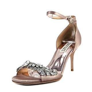 Badgley Mischka Bankston   Open Toe Canvas  Sandals