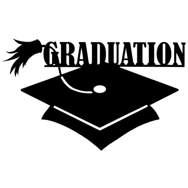 "Cardstock Laser Die-Cuts 4""X6""-Graduation"