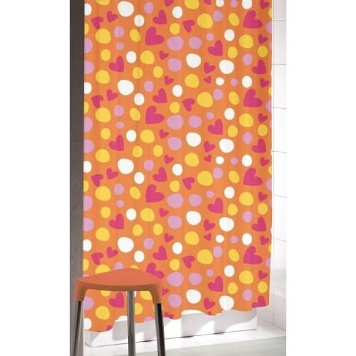 "Nameeks CO318 Gedy 78-7/10"" X 70-9/10"" Shower Curtain"