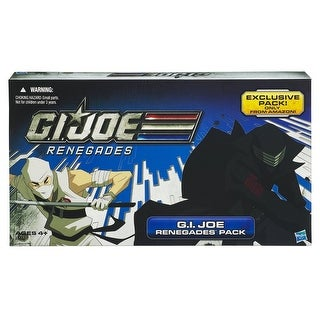 "G.I. Joe Exclusive Renegades 3.75"" Action Figure Set - multi"