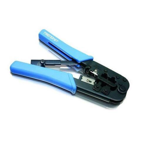 TRENDnet Q72894M TRENDnet 8P RJ-45 and 6P RJ-12 RJ-11 Crimp Cut and Strip Tool TC-CT68