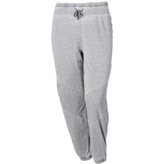 Marika Curves Womens Plus Athletic Pants Joggers Quilted