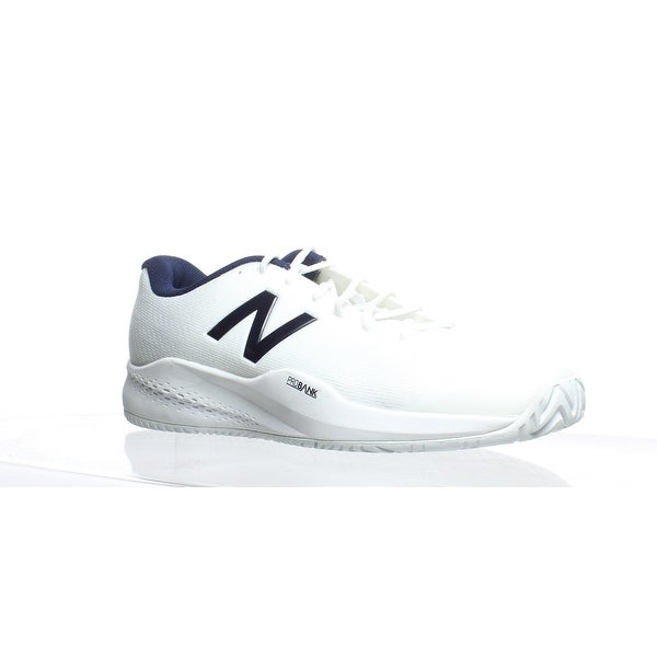 Shop New Balance Mens Mch996p3 White Tennis Shoes Size 12