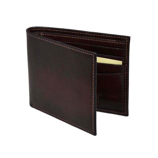 Trafalgar Mens Brown Leather Wallet