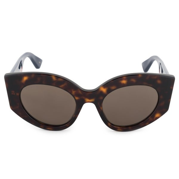 3aeabed399 Shop Gucci Gucci Cat Eye Sunglasses GG0275S 002 52 - Free Shipping ...