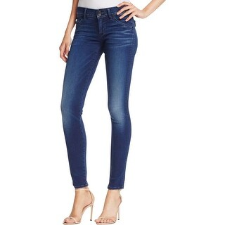 Hudson Womens Collin Skinny Jeans Flap Pocket Denim