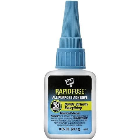 DAP 00155 RapidFuse All Purpose Adhesive, 0.85 oz