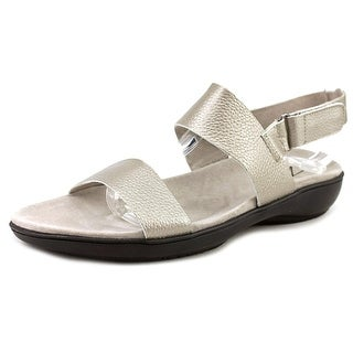 Trotters Gina W Open-Toe Leather Slingback Sandal