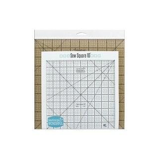 Sew Kind Of Wonderful Ruler Sew Square 10