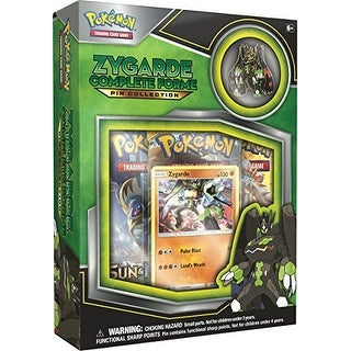 TCG: Zygarde Complete Forme Pin Collection