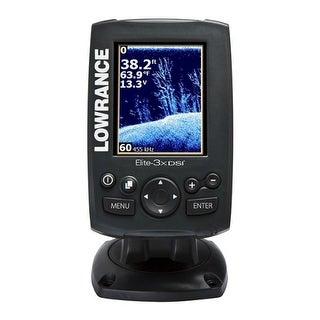 Lowrance 000-12636-001 Hook-3x DSI Fishfinder w/ 455/800khz Transducer HOOK-3x DSI Fishfinder w/ 455/800 Transom Mount