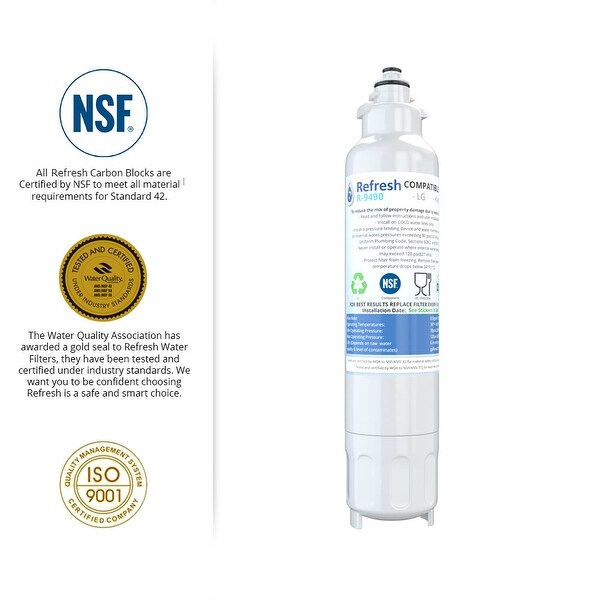 Home & Garden Refresh LT800P Fits for LG LT800P ADQ73613401 Refrigerator Water Filter 2pk