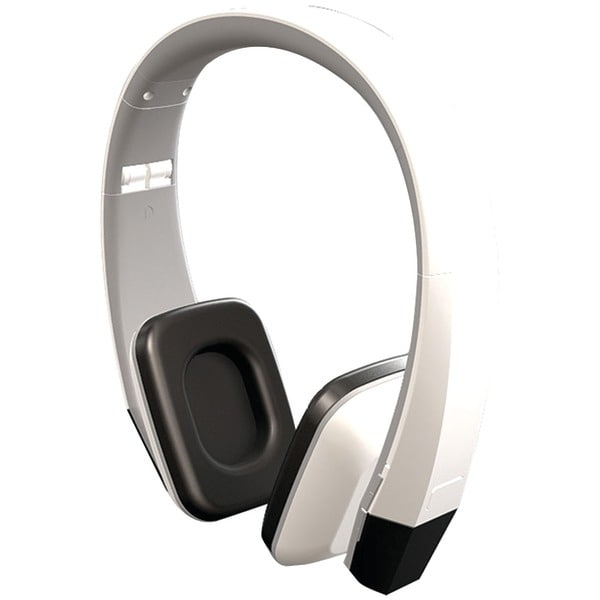 Power Acoustik Hir-2W 2-Channel Wireless Ir Headphones (Snow White)