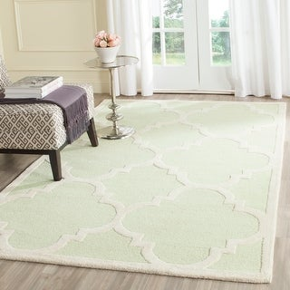 Link to Safavieh Handmade Cambridge Rosy Modern Moroccan Wool Rug Similar Items in Transitional Rugs
