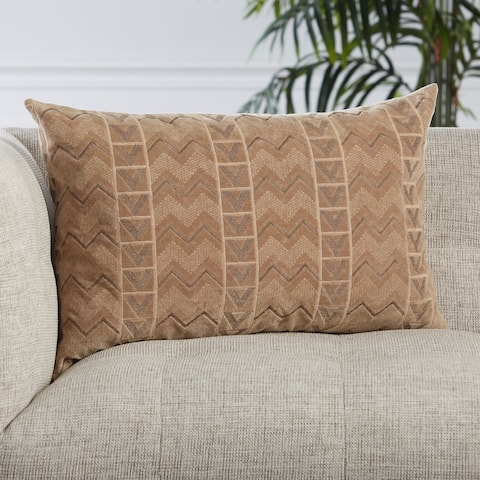 Provins Chevron Lumbar Pillow