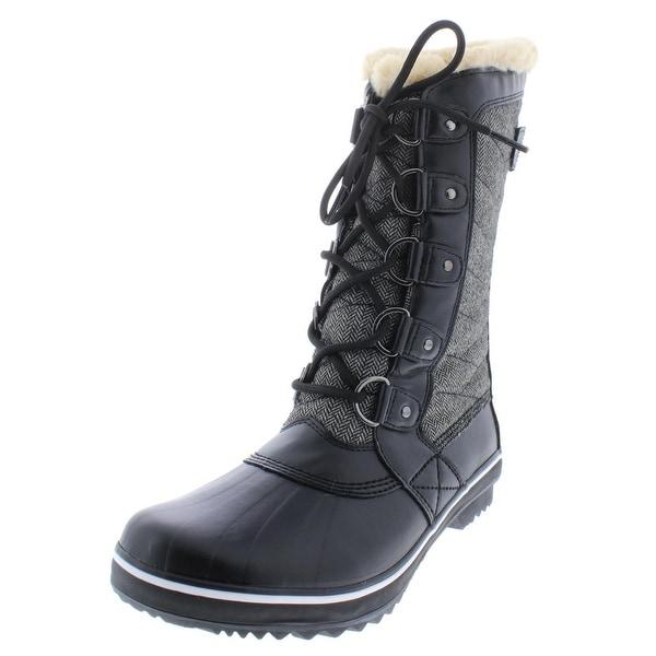748bb87f9 Shop JBU by Jambu Womens Lorna Winter Boots Cold Weather Mid-Calf ...
