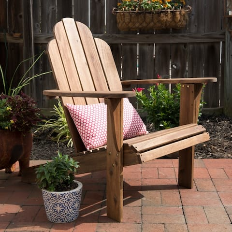 Gavil Natural Brown Adirondack Chair