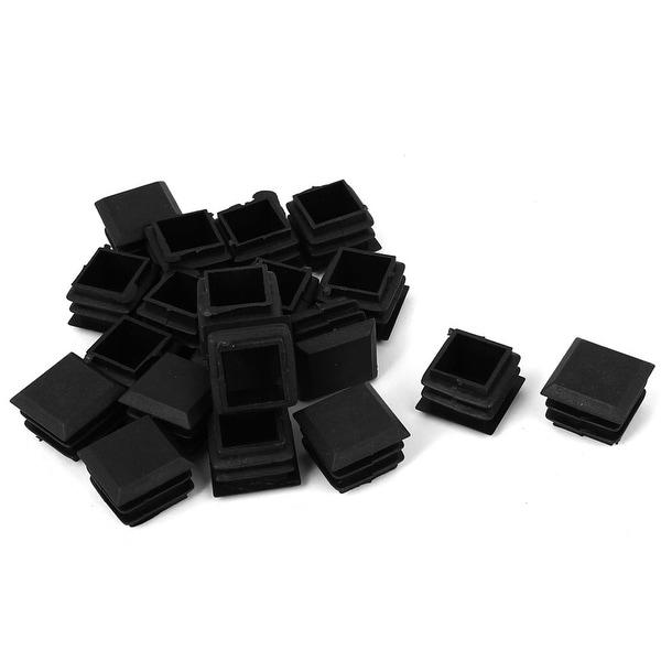 Shop 25mm X 25mm Plastic Chair Table Leg Glide Cap Plug