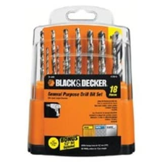 Black & Decker 71-931 18 Piece Drill Bit Set