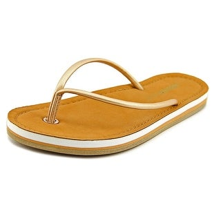 Rocket Dog Palm Beach  Women  Open Toe Synthetic Gold Flip Flop Sandal