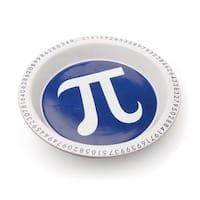 The Pi Dish - Stoneware Funny Pie Plate - 10.38 in. x 10.38 in. x 1.38 in.