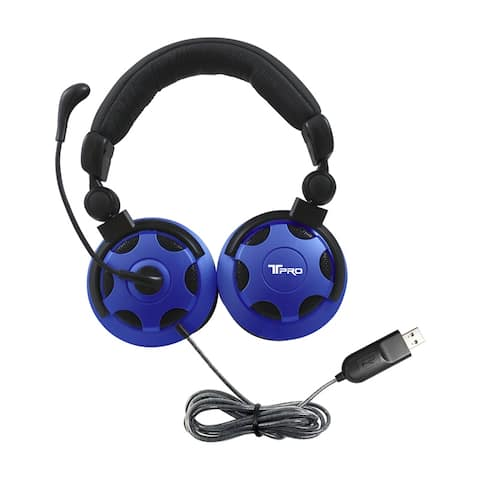 T-PRO USB Headset With Noise-Cancelling Mic