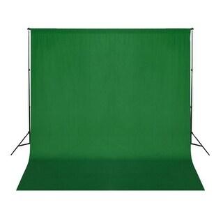 vidaXL Backdrop Green 10 x 10 feet Chroma Key